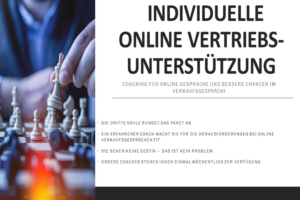 Individuelle Online Vertriebsuntertützung