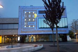 Fassadenillumination