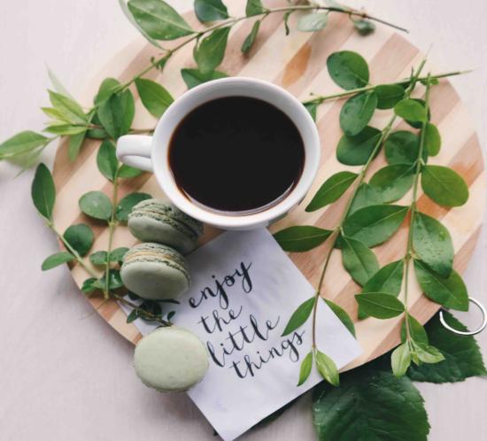 enjoy the little things - Internationaler Tag des Kaffees