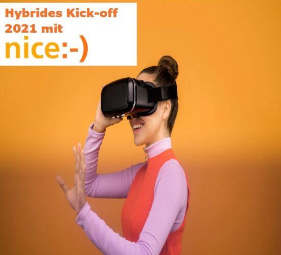 Hybrides Kick-off 2021 mit nice:-)