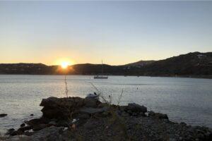 Sunset on Mykonos